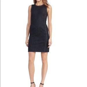 Lauren Ralph Lauren Black Denim sheath dress-NWT
